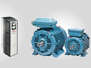 Electrical motors and frequency converters