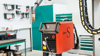 Specifications for the welding machine