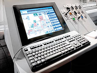 Visualisation technology - control systems installation