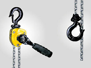Full service for hand hoisting equipment, hoisting winches and puller hoists