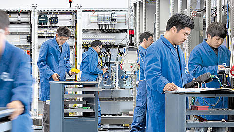 Switch cabinet production in China