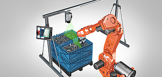 Bin Picking industrial robotics application