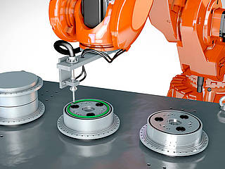 Wide range of robotic gluing solution