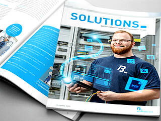 Cover of SOLUTIONS 2020 - Blumenbeckers company magazin