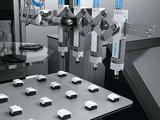Pneumatic products from Festo