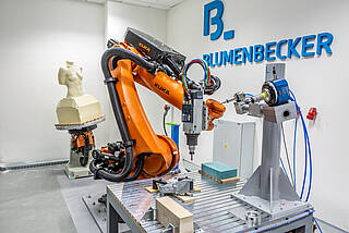 Blumenbecker's robot maching center in Brno