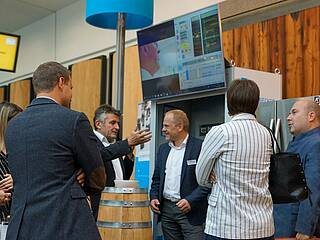 Messestand auf der Smart Automation in Linz