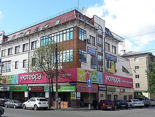 Location in Kaluga, Russia
