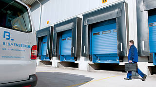 We maintain and inspect your industrial doors