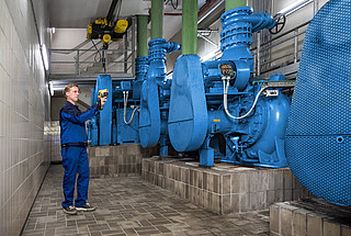 Preventive thermographic testing operations at the pumping stations