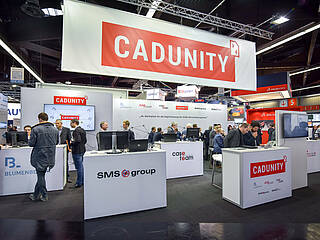 Cooperation project Cadunity at SPS IPC Drives 2017