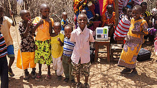 Kinder des Waisenhauses Diani Children's Village