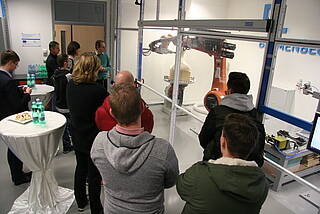 Presentation of a robotic machining application in Brno