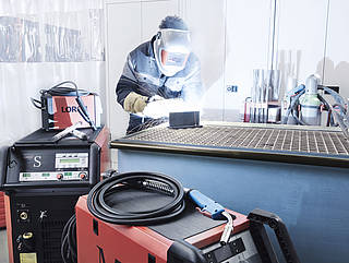 Welding technology for industry and trade