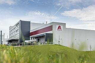 Customer Axalta - production hall